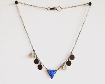 Blue Monday Necklace. Hippy Hippy Shake Collection