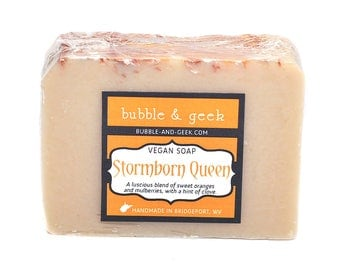 Stormborn Queen Scented Soap Bar - Cold Process - Mulberry, Orange, Clove