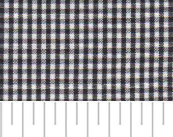 High Quality Fabric Finders Black Gingham. Perfect for Sewing, Quilting and Crafts!