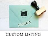 Custom logo / brand stamp for Janet
