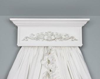 Canopy Crown, Bed Crown, Princess Canopy, Shabby Nursery