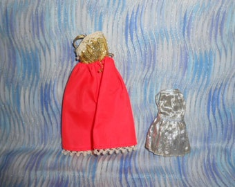 Two Party Dresses For Topper Dawn Doll-1970