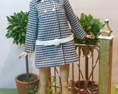 OOAK Outfit for Silkstone Barbie, FR2 and Poppy Parker 12'' dolls