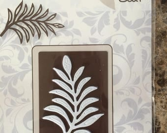Paper cutting Die- Vintage flourishes leaf- made by Joy Crafts from the Netherlands