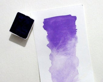 Ultramarine Violet - Handmade Watercolor Paint