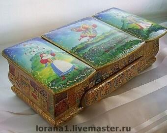 """Original Box """"Fairy Kingdom"""". Handcrafted"""