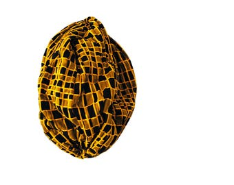 Extraordinary Handmade African Print Ankara Turban Hat