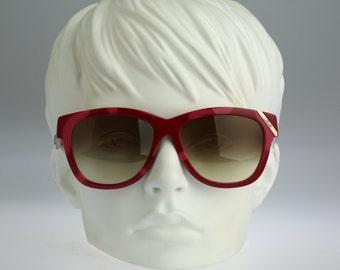 Silhouette M 3086, Vintage oversized square sunglasses, 80s rare and unique / NOS