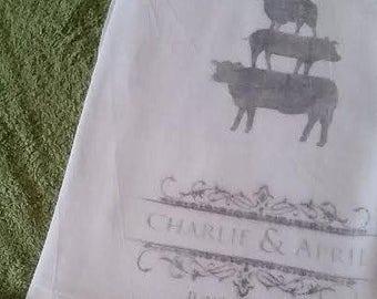 Custom Printed Hand Towels