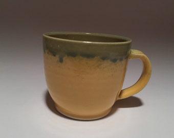 Yellow and Jade Mug