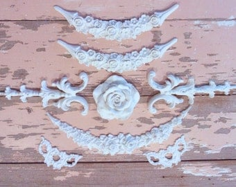Shabby Chic Furniture Applique Wholesale Lot - Save Over 50%