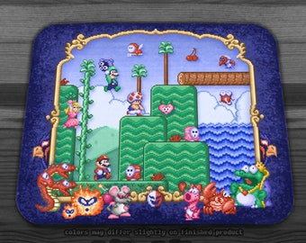 Mario Super Bros, Too  Mousepad