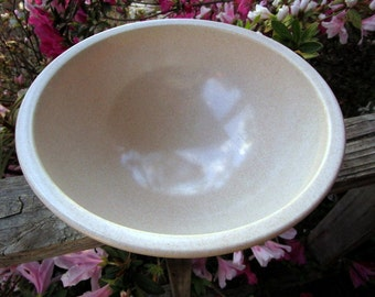 Texas Ware Boonton Melmac Mixing Bowl Unmarked Beige Freckles A 118 USA