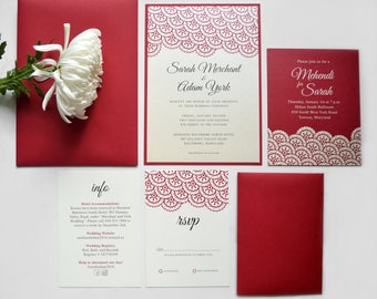 pakistani wedding invitations muslim indian shaadi - Pakistani Wedding Invitations