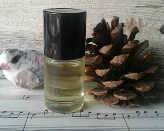 Falling Snow - You Smell Purdy - High Quality Perfume Oil - Vegan - Gothic Goth Dusty Incense Scent - Grapeseed Oil - Organic Oils