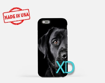 Black Lab iPhone Case, Dog iPhone Case, Black Lab iPhone 8 Case, iPhone 6s Case, iPhone 7 Case, Phone Case, iPhone X Case, SE Case