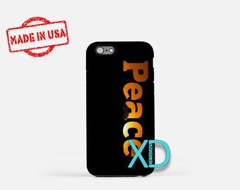 Peace iPhone Case, Sunset iPhone Case, Serenity iPhone 8 Case, iPhone 6s Case, iPhone 7 Case, Phone Case, iPhone X Case, SE Case