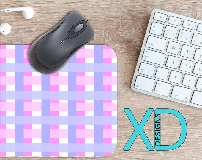 Pink Weave Mouse Pad, Pink Weave Mousepad, Layered Rectangle Mouse Pad, Purple, Layered Circle Mouse Pad, Pink Weave Mat, Computer, Basket