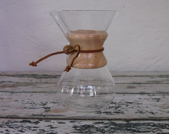 Vintaeg 1960's Chemex// Pyrex// Coffee Pot