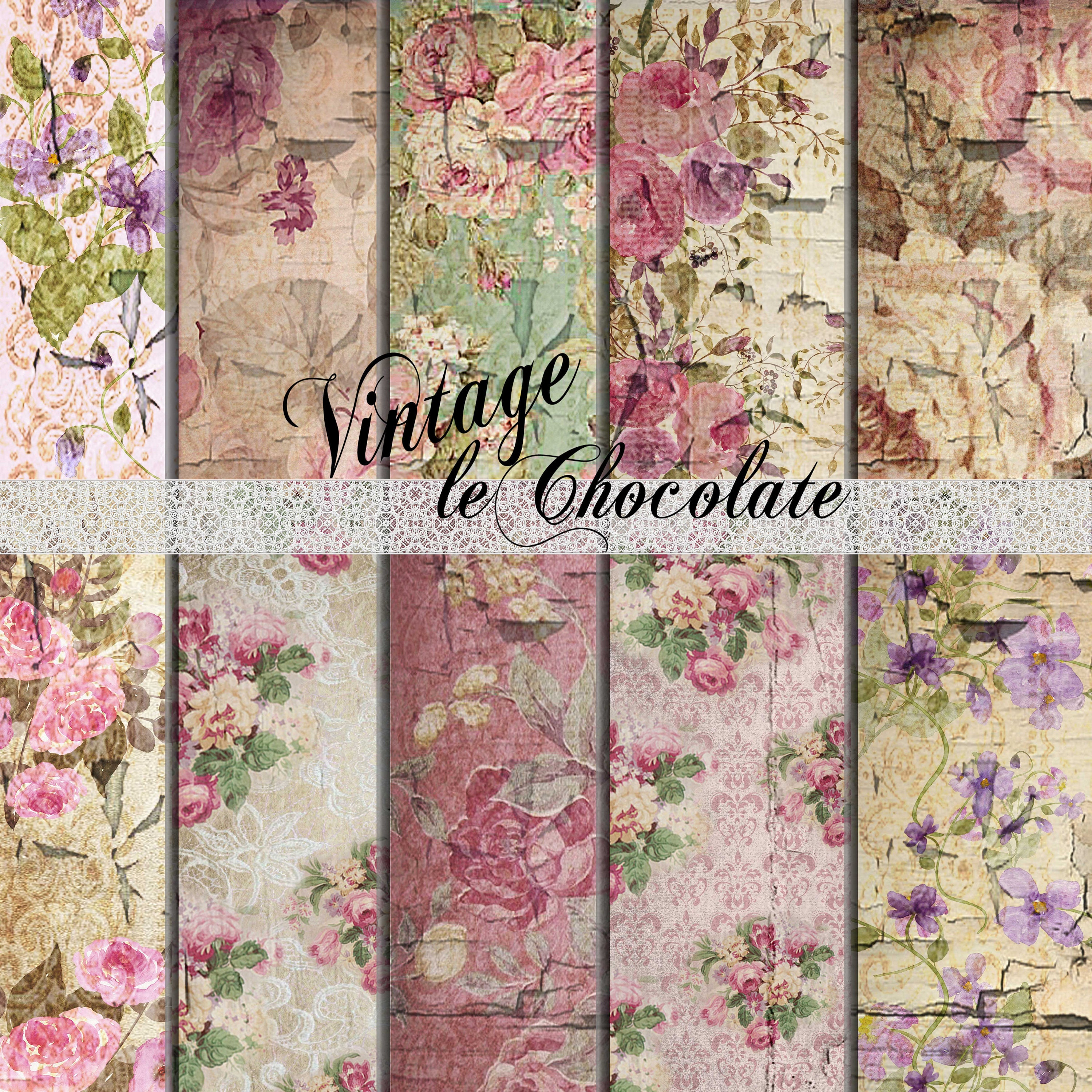 Scrapbook paper as wallpaper - This Is A Digital File