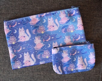 Celestial Cats Zipper Pouch & Coin Purse