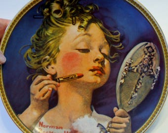 "Norman Rockwell's Rediscovered Women Collection: ""Making Believe at the Mirror"""