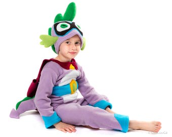 Spike Dragon Costume for Kids My Little Pony Power Pony Children Costume