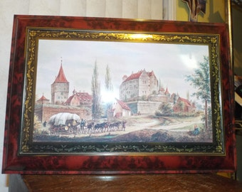 Large Biscuit Tin From Germany Home Decor