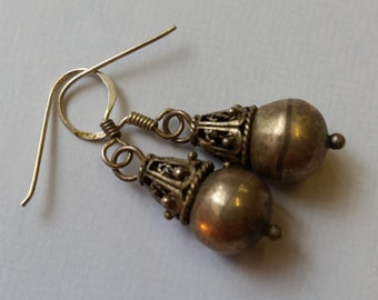 Sterling Silver 925 Vintage Dangle Earrings