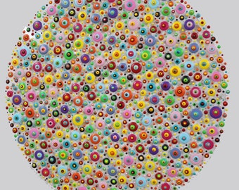 xxl abstrakt art painting acryl plexiglas  100  cm 40  inch