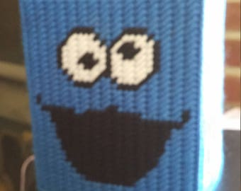 Cookie Monster Tissue Box Cover