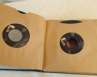 Vintage 45 RPM Records 11 Assorted Titles and Singers Perry Como Eddie Fisher Tennessee Ernie Ford Dean Martin  and More
