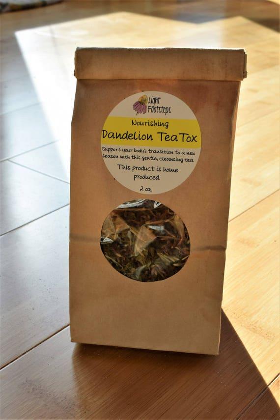 Dandelion TeaTox ~ Organic Herbal Tea Blend - Homemade - For Ohio Customers Only