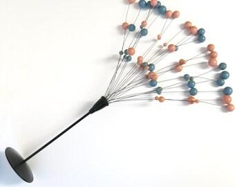 Laurids Lonborg Kinetic Danish Table Ball Sculpture // Mid Century Design // Kinetic Sculpture Tivoli Mobile