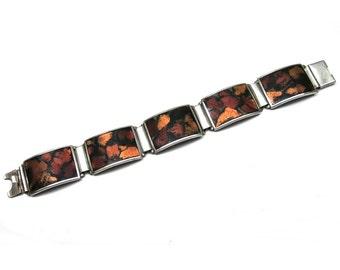 Perli Design - Enamel Bracelet / 60s - 70s Fashion