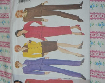 Butterick 5148 Misses' Jacket, Skirt and Pants  Sewing Pattern - UNCUT - Sizes 18 20 22