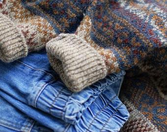 VTG 80s men wool sweater size M