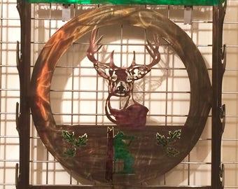 Gun Rack 5 Deer Hunt