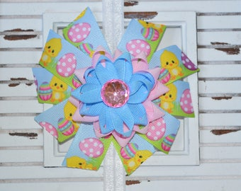 Spring Easter Bow