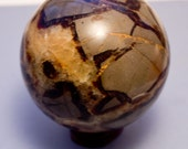 Septarian Dragon Crystal Sphere 435 grams 2 7/8 big size Fast Shipping! Black friday sale!