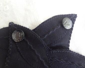 Fingerless Dress Gloves Shabby Elegance Gloves Ladies Upcycled Dress Gloves Vintage Upcycled - Atlantic Rock Threads