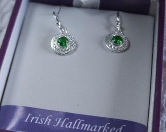 Celtic knotwork earrings