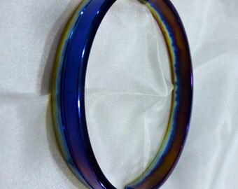 Titanium bangle