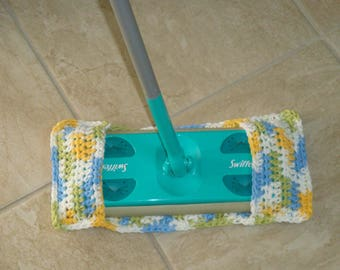 Green Swiffer Duster Green Floor Dusting Cloth Yellow