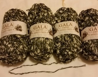 4 Gala Mixed Fiber Yarn - Colored Accents