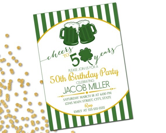 st patrick s day party invitations printable st patricks day party invitations and accessories