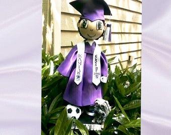 Graduation Centerpiece  college graduation centerpiece high school graduation  centerpiece cake topper