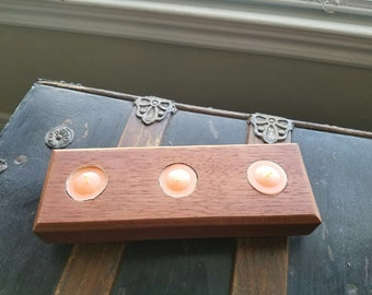 Brazilian Cherry tea light holder