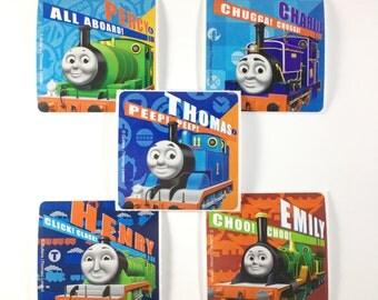 Thomas the Train Birthday, Thomas the Train Party, Thomas the Train party favors, Thomas the Train party supplies, Thomas the Train Sticker