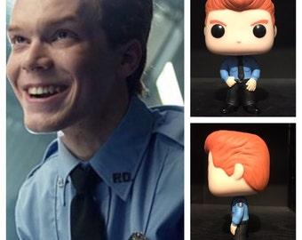 "Custom Funko Pop: Jerome Valaska from ""Gotham"" (Police Variant)"